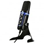 Yeyian Micrófono Banshee 1000, Alámbrico, Negro/Azul