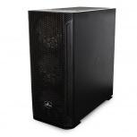 Gabinete Yeyian Hollow 2500 con Ventana, Midi Tower, ATX/EATX/ITX/Micro ATX, USB 3.2, sin Fuente, Negro