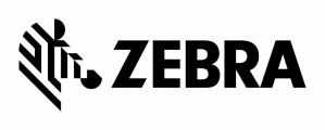 Cinta Zebra con Cera Negro, 11cm x 450m, 18 Rollos