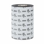Cinta Zebra Wax 2000, 3.27'' x 83mm, 450 Metros, 24 Piezas