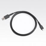 Zebra Cable USB para MC9500, Negro