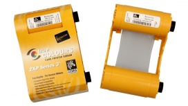 Cinta de Color Zebra IX Series, 6 Paneles YMCKOK, 230 Impresiones, para ZXP Series 3