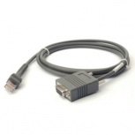 Zebra Cable RS232 -DB9, 2 Metros, para LI3608/LI3678