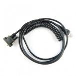 Zebra Cable RS-232 DB-9 Hembra 2.8 Metros, Negro