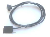 Zebra Cable RS232 Macho - DB9 Macho, 70cm, Negro