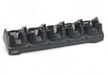 Zebra Cargador para 5 Baterías, Negro, para TC8000