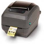 Zebra GK420t, Impresora de Etiquetas, Térmica Directa/Transferencia Térmica, 203 x 203 DPI, RS-232/Ethernet, Gris