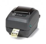 Zebra GK420t, Impresora de Etiquetas, Transferencia Térmica, Paralelo, Serial, USB, Gris