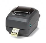Zebra GK420t, Impresora de Etiqueta, Térmico, Alámbrico, Serial, Paralelo, USB, 203 x 203DPI, Negro