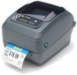 Zebra GX420t, Impresora de Etiquetas, Transferencia Térmica, 203DPI, Bluetooth, Ethernet, Paralelo, Negro