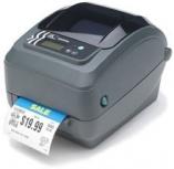 Zebra GX420d, Impresora de Etiquetas, Térmica Directa, 203 x 203DPI, RS-232/USB 1.1, Negro/Gris