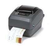 Zebra GX430t, Impresora de Etiquetas, Transferencia Térmica, 300DPI, Serial, USB, Paralelo, Negro