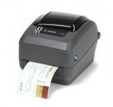 Zebra GX430t, Impresora de Etiquetas, Transferencia Térmica, 300DPI, Gris