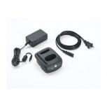 Zebra Cargador para 1 Batería, Negro, para CS4070 - incluye Bateria y Fuente de Poder