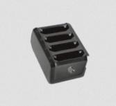 Zebra Cargador para 4 Baterías, Negro, para ET5X