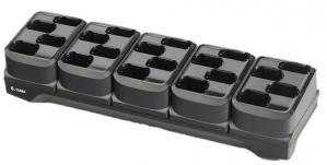 Zebra Cargador de 20 Baterias, Negro, para MC3300