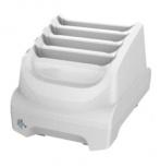 Zebra Cargador para 4 Baterías, Blanco, para TC51-HC
