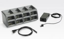 Zebra Cargador para 8 Baterías SAC5070-800CR, Negro, para RS507