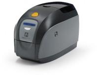 Zebra ZXP1, Impresora de Credenciales, 300 x 300 DPI, USB 2.0, Negro/Gris - incluye Software, Webcam, Cinta y 100 Tarjetas