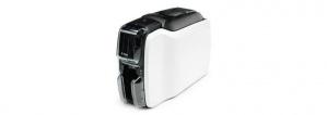 Zebra ZC100, Impresora de Credenciales, Transferencia Térmica, 1 Cara, 300 x 300DPI, USB 2.0, Negro/Blanco