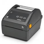 Zebra ZD420, Impresora de Etiquetas, Térmica Directa, 203 x 203 DPI, Ethernet, Bluetooth 4.1, Gris/Negro