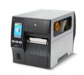 Zebra ZT411, Impresora de Etiquetas, Térmica Directa, 203 x 203DPI, USB, Serial, Ethernet, Bluetooth, Negro/Gris