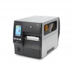 Zebra ZT411, Impresora de Etiquetas, Térmica Directa/Transferencia Térmica, 203 x 203DPI, USB/Serial/Bluetooth, Gris/Negro