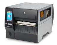Zebra ZT421 Impresoras de Etiquetas, Termica Directa/Transferencia Térmica, 203 x 203DPI, Serial, USB, Ethernet, Bluetooth, Negro/Gris