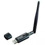 Zonet Adaptador de Red USB ZEW2590, Inalámbrico, 150Mbit/s, 2.4GHz, 1 Antena 3.5dBi