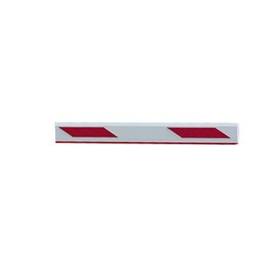 Mástil recto de 3 metros con iluminación compatible con barreras Industrial by AccessPRO