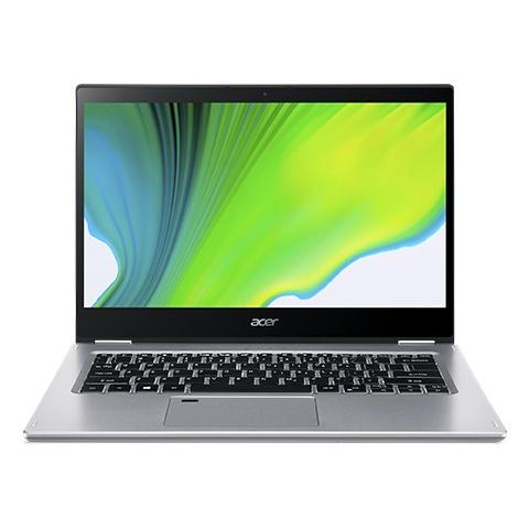 """Acer 2 en 1 Spin 3 SP314-54N-315R 14"""" Full HD, Intel Core i3-1005G1 1.20GHz, 8GB, 256GB SSD, Windows 10 Home 64-bit, Plata"""