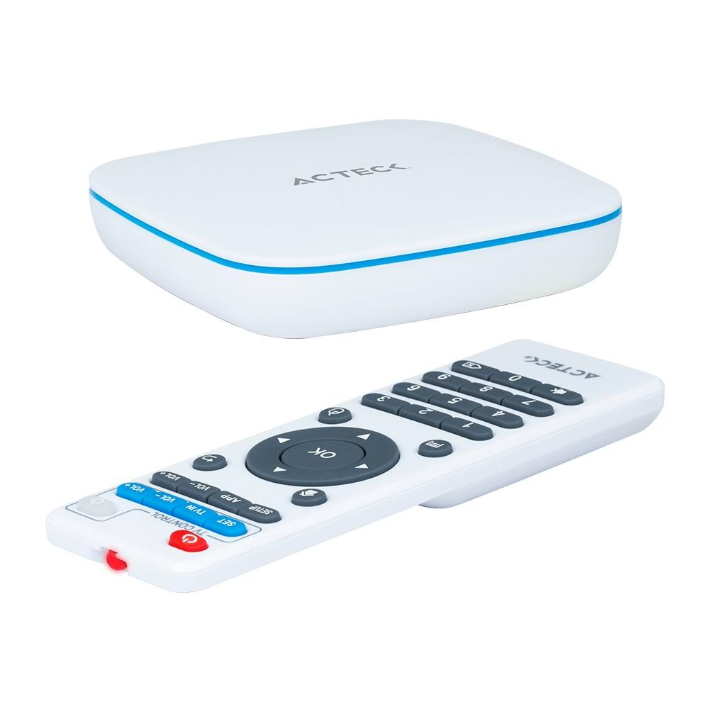 Acteck TV Box EX2, Android 7.1, 8GB, 4K Ultra HD, HDMI, USB 2.0