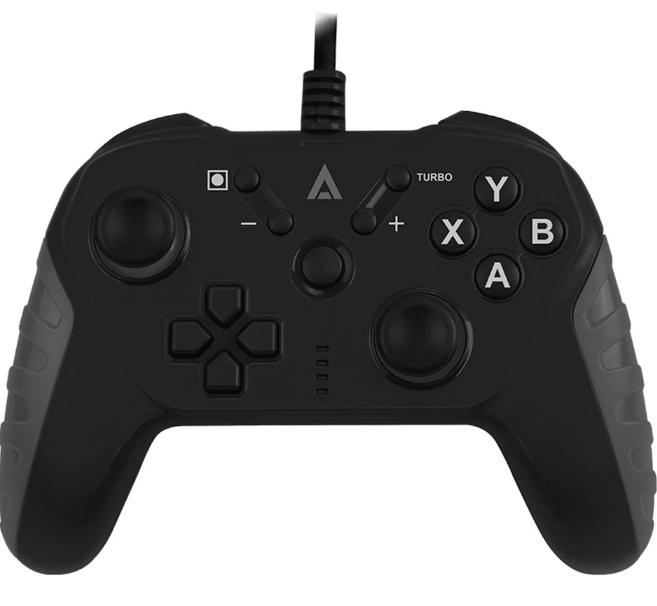 Acteck Gamepad G100, Alámbrico, USB, Negro