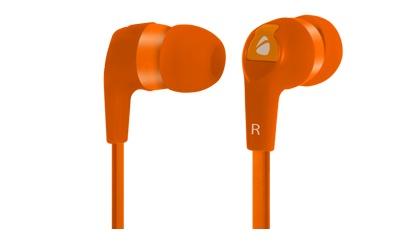 Acteck Audífonos Earbuds Xplotion EB-800, Alámbrico, 3.5mm, 1.2 Metros, Naranja