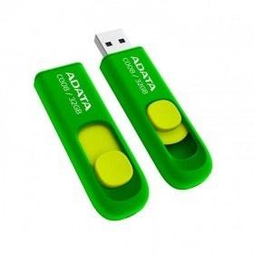 Memoria USB Adata C008, 32GB, USB 2.0, Verde