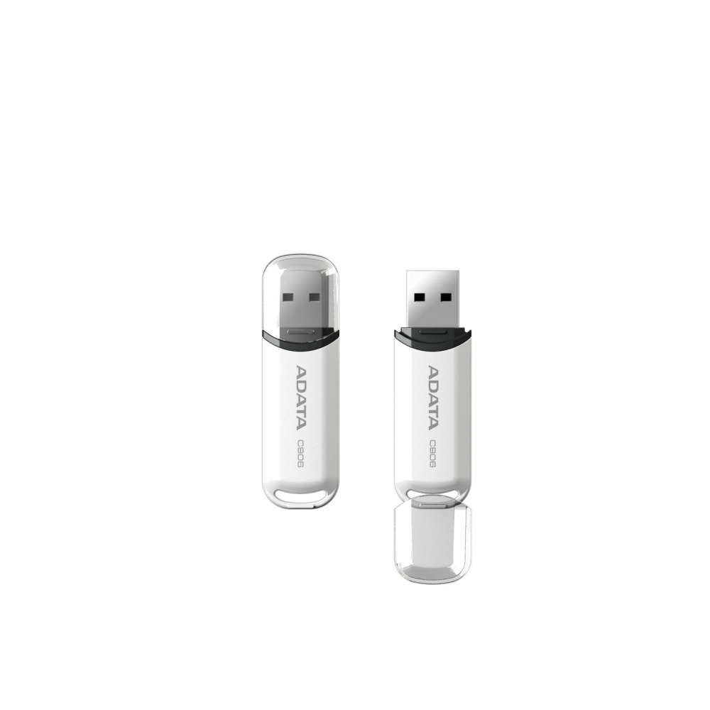 Memoria USB Adata C906, 16GB, USB 2.0, Blanco