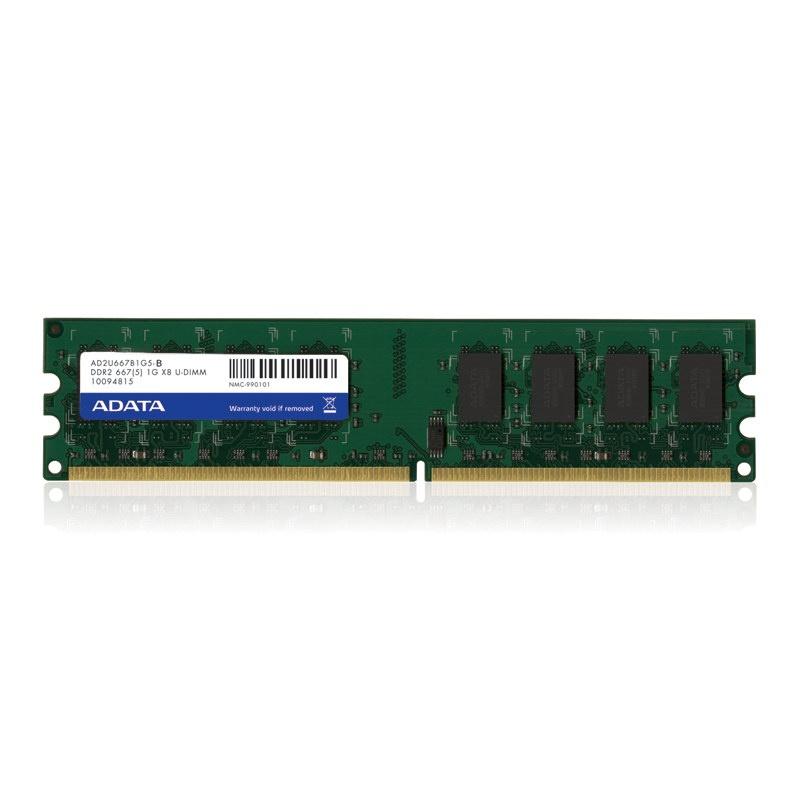 Memoria RAM Adata DDR2, 667MHz, 1GB, CL5
