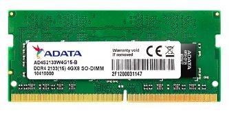 Memoria RAM Adata DDR4, 2133MHz, 16GB, SO-DIMM