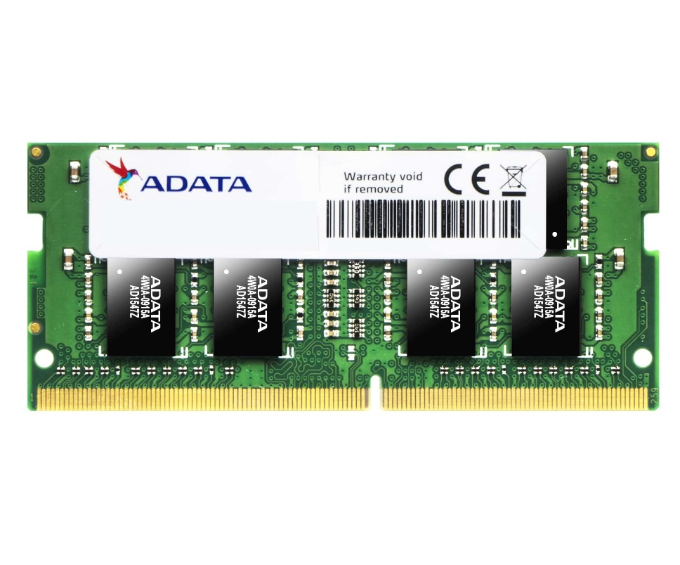 Memoria RAM Adata AD4S2666W4G19-S DDR4, 2666MHz, 4GB, Non-ECC, CL19, SO-DIMM