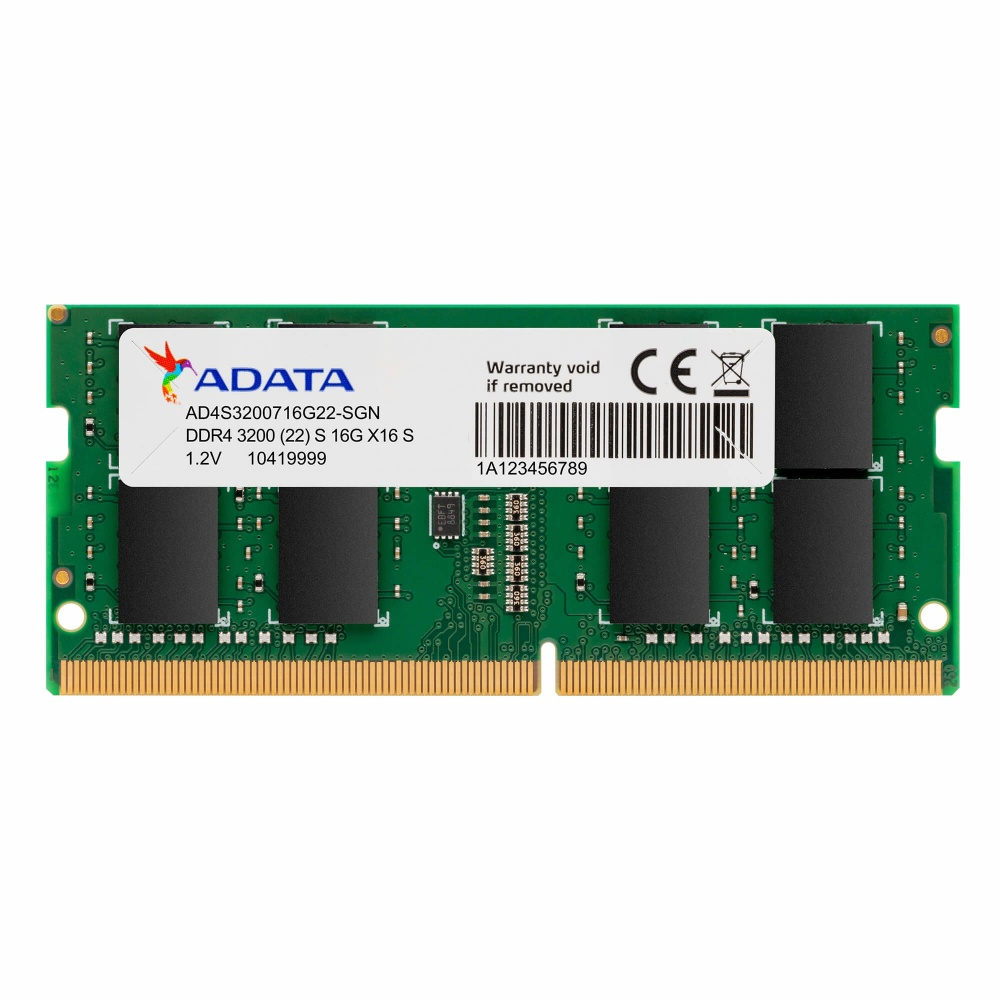 Memoria RAM ADATA Premier DDR4, 3200MHz, 8GB, Non-ECC, SO-DIMM