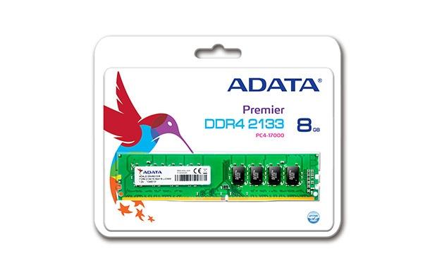 Memoria RAM Adata DDR4, 2133MHz, 8GB