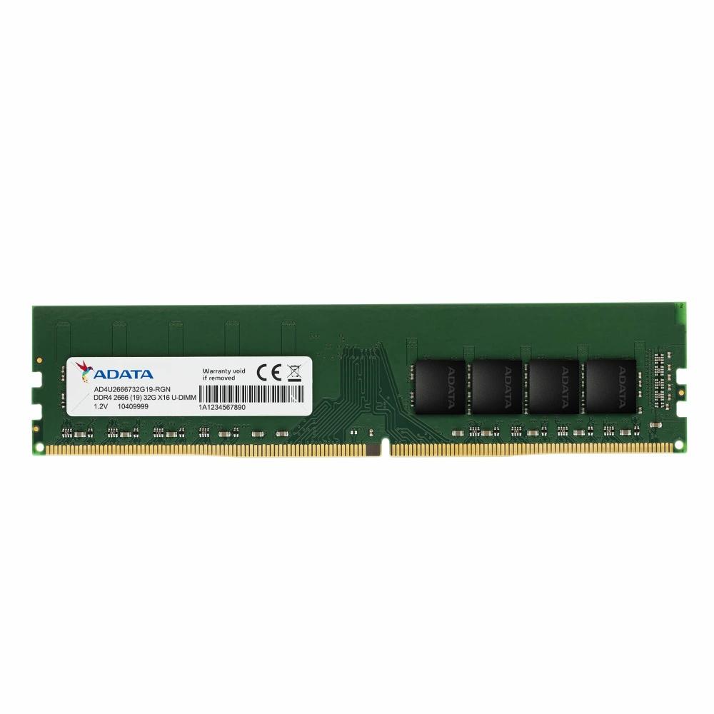 Memoria RAM Adata DDR4, 2666GHz, 16GB, Non-ECC, CL19
