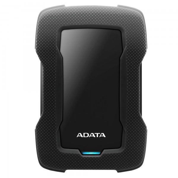 Disco Duro Externo Adata HD330 2.5'', 4TB, USB 3.1, Negro, A Prueba de Golpes - para Mac/PC
