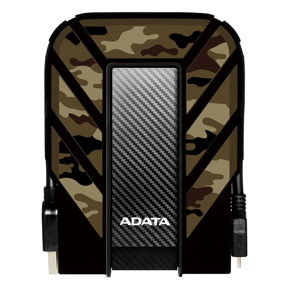 Disco Duro Externo Adata HD710M Pro 2.5'', 2TB, USB 3.0, Camuflaje, A Prueba de Agua, Polvo y Golpes - para Mac/PC
