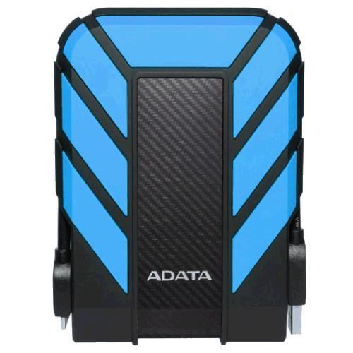 Disco Duro Externo Adata HD710 Pro 2.5'', 2TB, USB 3.0, Negro/Azul, A Prueba de Agua y Golpes - para Mac/PC