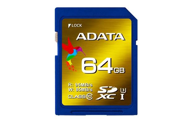 Memoria Flash XPG, 64GB SDXC UHS-I Clase 3, Lectura 98 MB/s, Escritura 85 MB/s