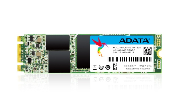 SSD Adata SU800, 512GB, SATA III, M.2