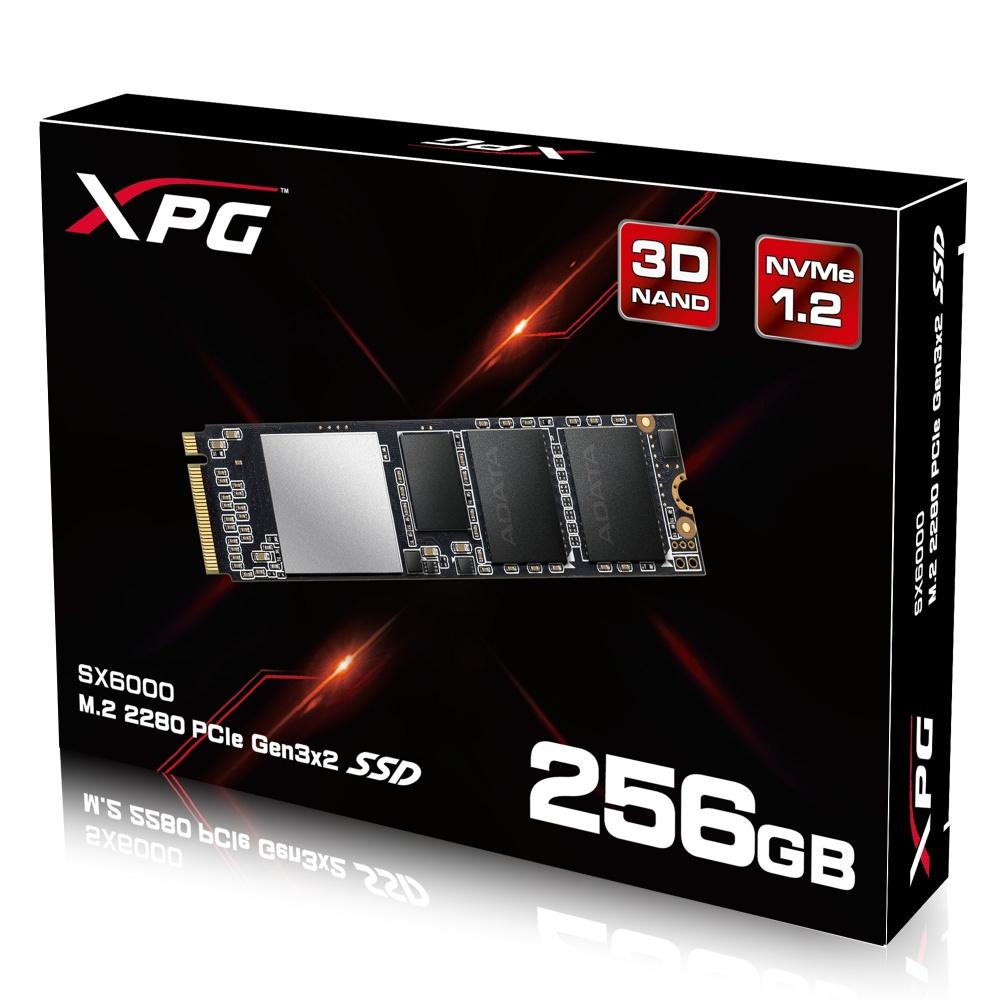 SSD Adata SX6000, 256GB, PCI Express 3.0, M.2