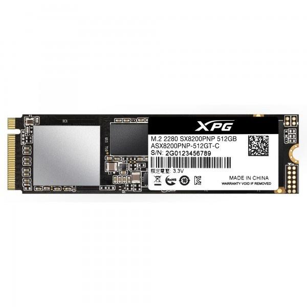 SSD XPG SX8200 Pro, 512GB, PCI Express 3.0, M.2