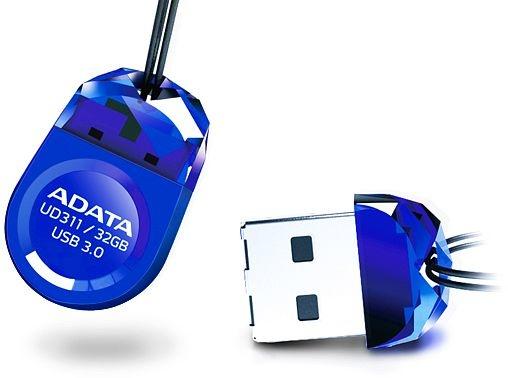 Memoria USB Adata Dashdrive Durable UD311, 32GB, USB 3.0, Azul